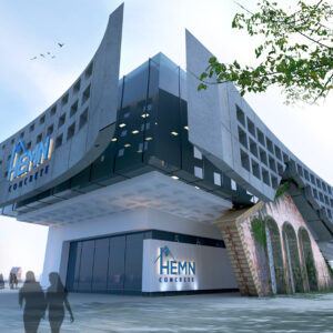 Hemin Concrete Office Design-1