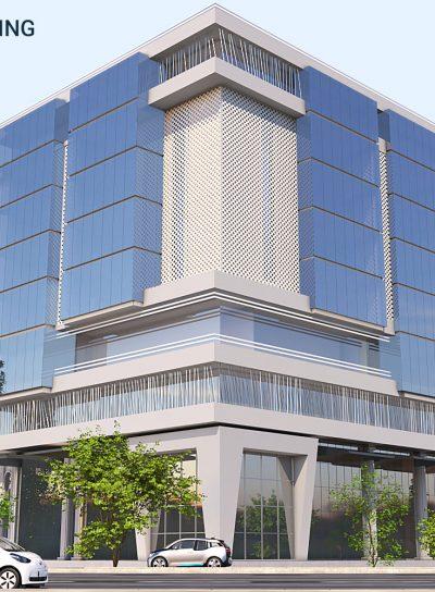 Qaiwan Building in Baghdad